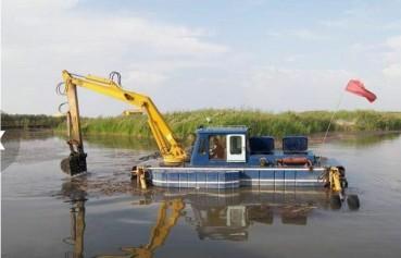 挖斗式清淤船